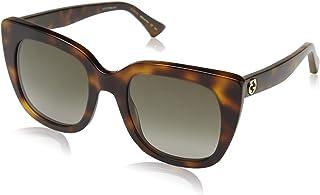 Gucci GG0163S Oversize Rectangular Sunglasses 51 mm