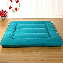Tatami Mattress, Four Seasons Foldable Futon Mattress, Single/Double Soft Sponge Mattress Floor Mat for Bedroom, Office an...