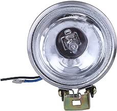 مصباح LED لضباب السيارة 12V55W من Demiawaking مقاس 3 بوصة مصباح دائري عاكس للضوء (أبيض)