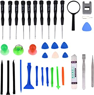 ZHANGYOUDE Replacement Parts 35 in 1 Professional Screwdriver Repair Open Tool Kit for Mobile Phones