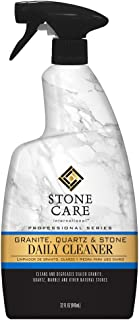 Stone Care International Granite Cleaner - 32 Fluid Ounces Granite Quartz Tile Travertine Limestone Slate Clean