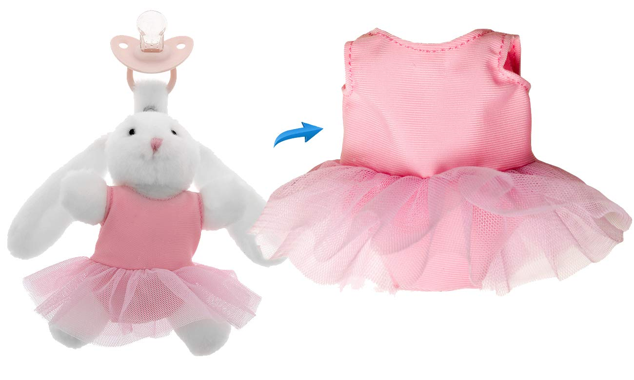 Doodalou New sales Infant Pacifier Attire Ballerina Indianapolis Mall - Outfit