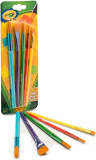 Crayola 5 Art & Craft Brushes,Paint
