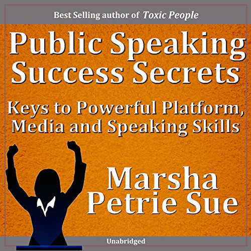 Public Speaking Success Secrets audiobook cover art