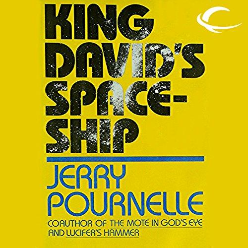 King David's Spaceship audiobook cover art