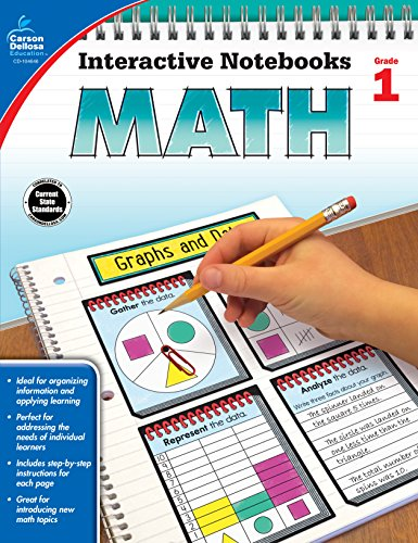 Math, Grade 1 (Interactive Notebooks)