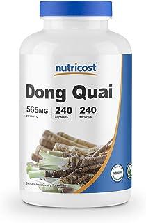 Nutricost Dong Quai 565mg, 240 Capsules (Angelica Sinensis) - Veggie Caps, Non-GMO, Gluten Free