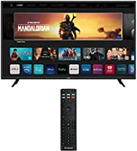 "VIZO V405-H19 V-Series 40"" Class HDR 4K UHD Smart LED TV with Additional Xtrasaver Replacement Remote Control"