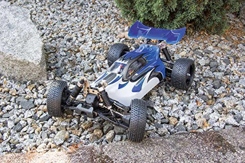 RC Auto kaufen Buggy Bild 6: XciteRC 30321000 - ferngesteuertes RC Auto One10 Buggy 4WD Brushless, blau*