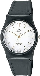 Q&Q Men'S White Dial Resin Band Watch - Vp34J005Y,