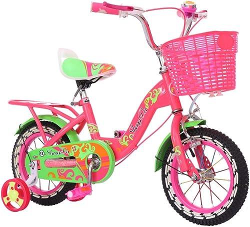 alta calidad Bicicleta de equilibrio Bicicleta para para para Niños Bicicleta para niña con ruedas de entrenamiento Con canasta para bicicleta de 12  Montaje fácil Bicicleta para Niños Little Princess Style 12 pulgadas para  mejor servicio