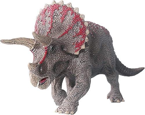 encuentra tu favorito aquí LXRZLS Triceratops Toy Toy Toy para Niños, Modelo de Dinosaurio Animal con simulación de Resina Natural, Tamaño  21x10x5cm  alto descuento