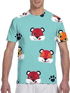 Vector Flower Seamless Pattern Short Sleeve Tee Novelty Teen Unisex T Shirt