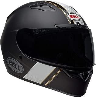 Bell Qualifier DLX MIPS Full-Face Motorcycle Helmet (Vitesse Matte/Gloss Black/White, Small)
