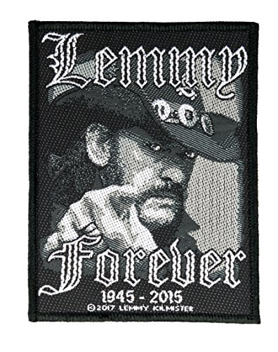 Lemmy Forever Aufnäher Motörhead Patch Gewebt & Lizenziert !!