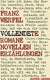 Vollendete Romane Novellen Erzählungen