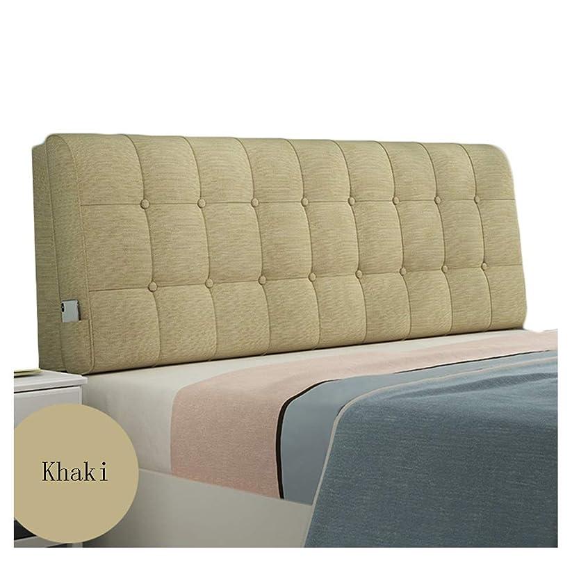 サーキットに行く吸う調和のとれたPENGFEI クッションベッドの背もたれ抱き枕 背もたれ スポンジ充填 コットンとリネン、 7色、 7サイズ (Color : D, Size : 190CM)