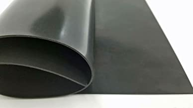 Viton Sheet Rubber – High Performance, High Temperature, Chemical Resistant, Much More - Commercial Grade 75A+/-5 Medium Hardness, Cinnamon Scented 062x6x6