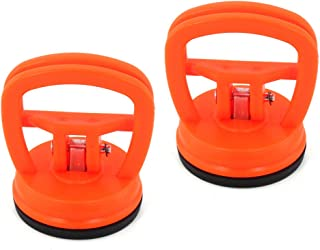 Suction Dent Puller, Elitexion 2 inches Mini Suction Cup Handle Dent Screen Puller - Pack of 2