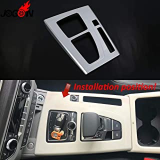 Lhd For Audi Q5 Fy 2018 2019 Car Styling Interior Gear Shifter Panel Media Control Cover Trim Matte Abs Chrome