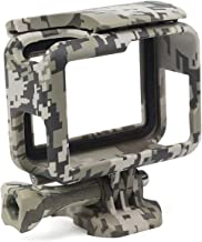 Impact Imagery - Camouflage Skeleton Frame for Gopro Hero 5 6 or 7 - Protective Low Profile Camera Housing - Quick Release Latch and Side Port Openings