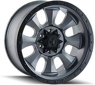 "Dirty Life Matte Gunmetal/Black Beadlock Wheel with Painted Finish (20x9""/6x135mm)"