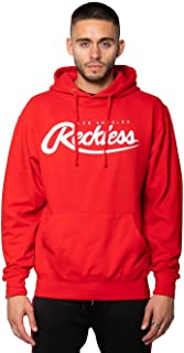 Young and Reckless - Big R Script Pullover Hoodie - Red - - Mens - Fleece - Hoodies -