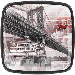 Tiradores de cajones Tiradores de puertas Tiradores de gabinetes de vidrio Herrajes para cajones de tocador Oficina en cas...