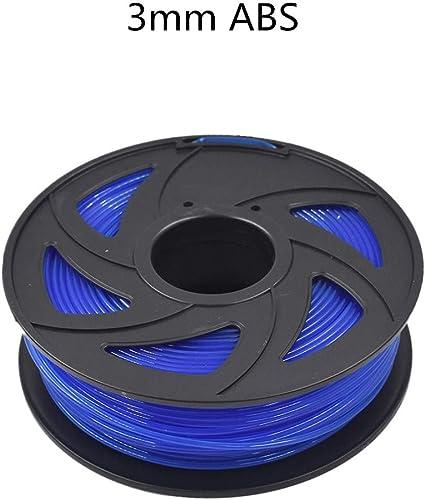 discount ABS online 3D Printer Filament - 2.20 lb (1KG) The Diameter of 3.00 mm, Dimensional Accuracy ABS Multiple lowest Color (Transparent Blue) online