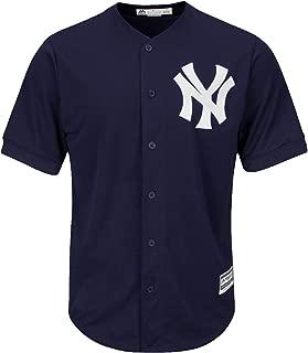 Jacoby Ellsbury New York Yankees #22 MLB Men's Cool Base Alternate Jersey Navy (Small)