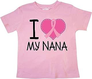 Breast Cancer Nana Toddler T-Shirt