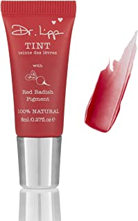 Natural Lanolin Tinted Lip Balm - Moisturizing Gloss For Dry Chapped Lips. Long Lasting Stains Made From Organic Edible Plant Pigments. Fragrance, GMO, Paraben & Cruelty Free.