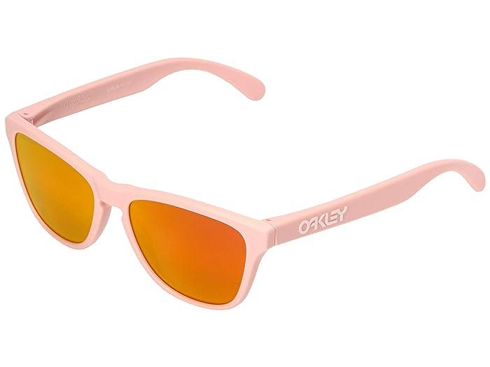Oakley Frogskin XS (Youth) (Matte Pink w/ Prizm Ruby) Sport Sunglasses