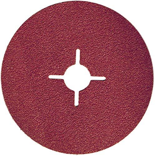 50 stuks glasvezelschijven schuurpapier schuurpapier schuurblad 125 mm korrel = 120 voor haakse slijpers
