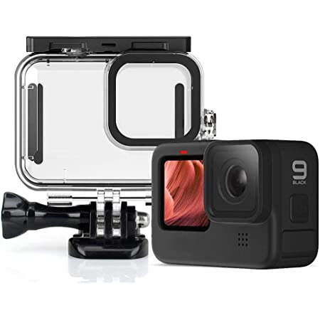 Amazon.com : QKOO for GoPro Hero 9 Black 50m Underwater Waterproof Case  Diving Protective Cover Housing Mount for GoPro 9 Black Accessories :  Camera & Photo