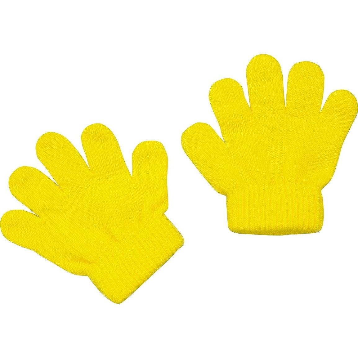 競う距離サンダーアーテック ミニのびのび手袋 黄 002112