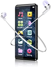 MP3 Player, MMUSC Full Touch Screen HiFi Lossless Sound Player,1080p Full HD Ultra Portable MP3 Player Support Video/Media...