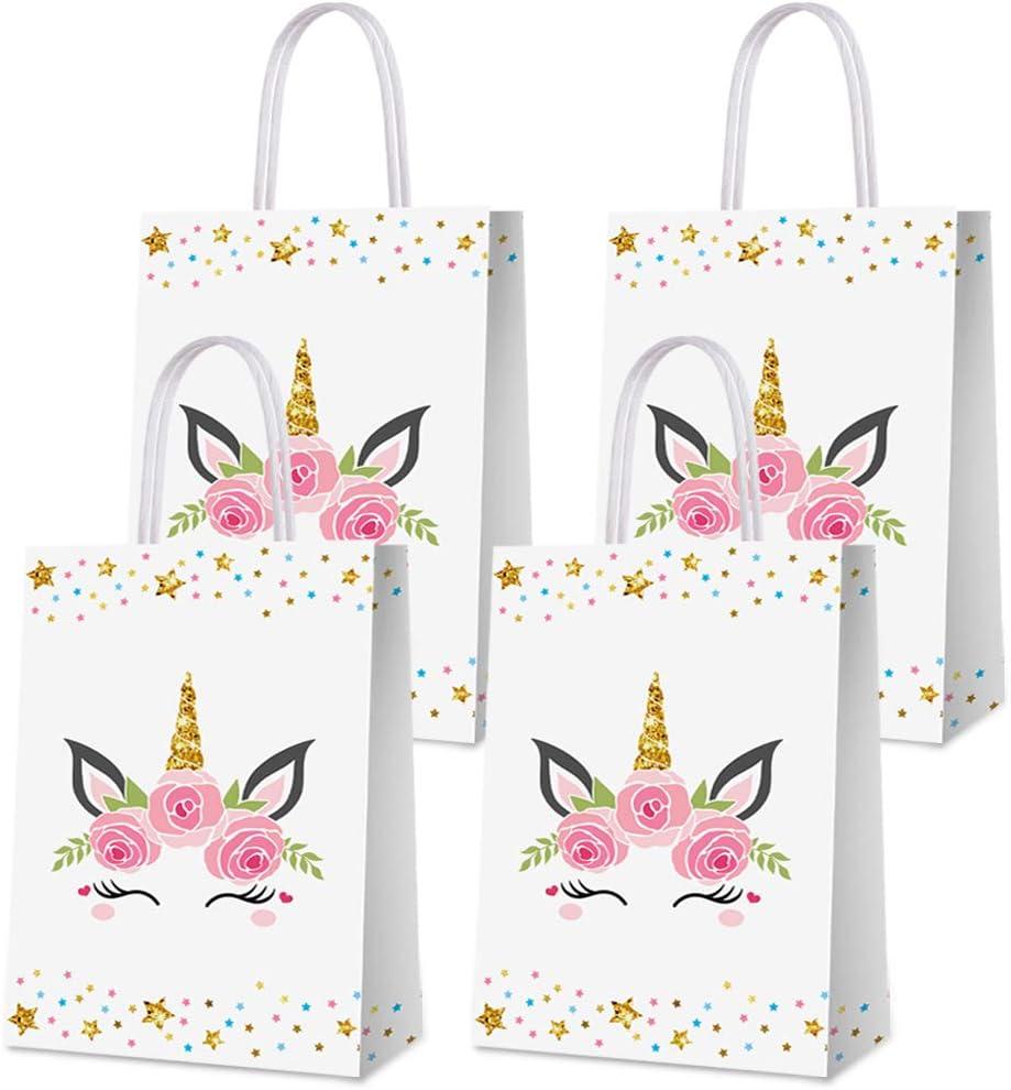 Unicorn party favor bags 5x7 Unicorn bag unicorn party favors 13- Unicorn Party Unicorn bags Unicorn favor bags Unicorn Birthday