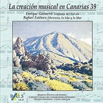 La Creación Musical en Canarias 39 Enrique Guimerá Rafael Estévez