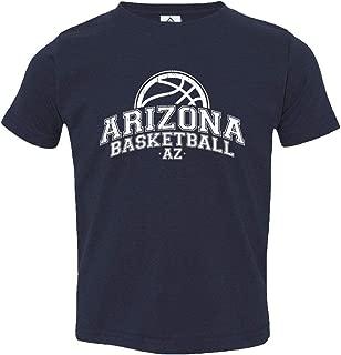 Sheki Apparel Basketball Fans Home Town Pride Little Kids Unisex Boys Girls Toddler T-Shirt