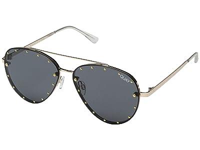 QUAY AUSTRALIA Roxanne #QuayXJaclynHill (Gold/Smoke) Fashion Sunglasses