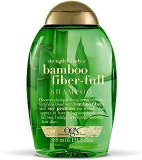 Shampoo Bamboo Fiber, OGX, 385 ml