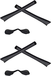2 Pair Replacement Earsocks & Nosepieces Kits for Oakley Radar Path - More Options