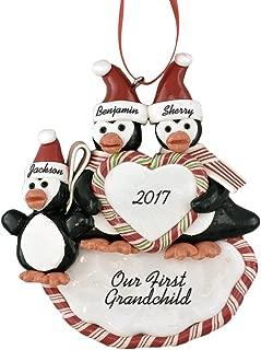 Calliope Designs First Grandchild Personalized Christmas Ornament 5