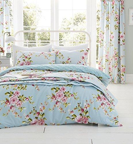 Catherine Lansfield 'Home' Copripiumino matrimoniale Canterbury con motivi floreali - multicolore - 200 x 200 cm
