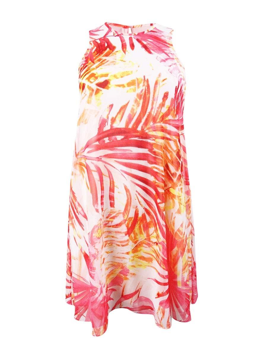 Available at Amazon: Calvin Klein Women's Petites Printed Sleeveless Mini Dress