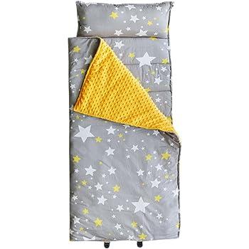 lavable portable motif renard des montagnes en peluche et matelas rembourr/é Homezy Tapis de sieste pour b/éb/é