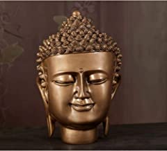 Sculptures Ornaments and Figurines Buddha Head Sculpture Resin Home Decoration Accessories Porch Living Room Cabinet Buddh...