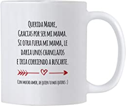 Casitika Regalo Para Mama de Dia de Madres o Cumpleanos. Funny Gift Ideas in Spanish for Mothers Day or Birthday. 11 oz Latin Mom Mug. Taza para Cafe Para Feliz Dia de La Madre.