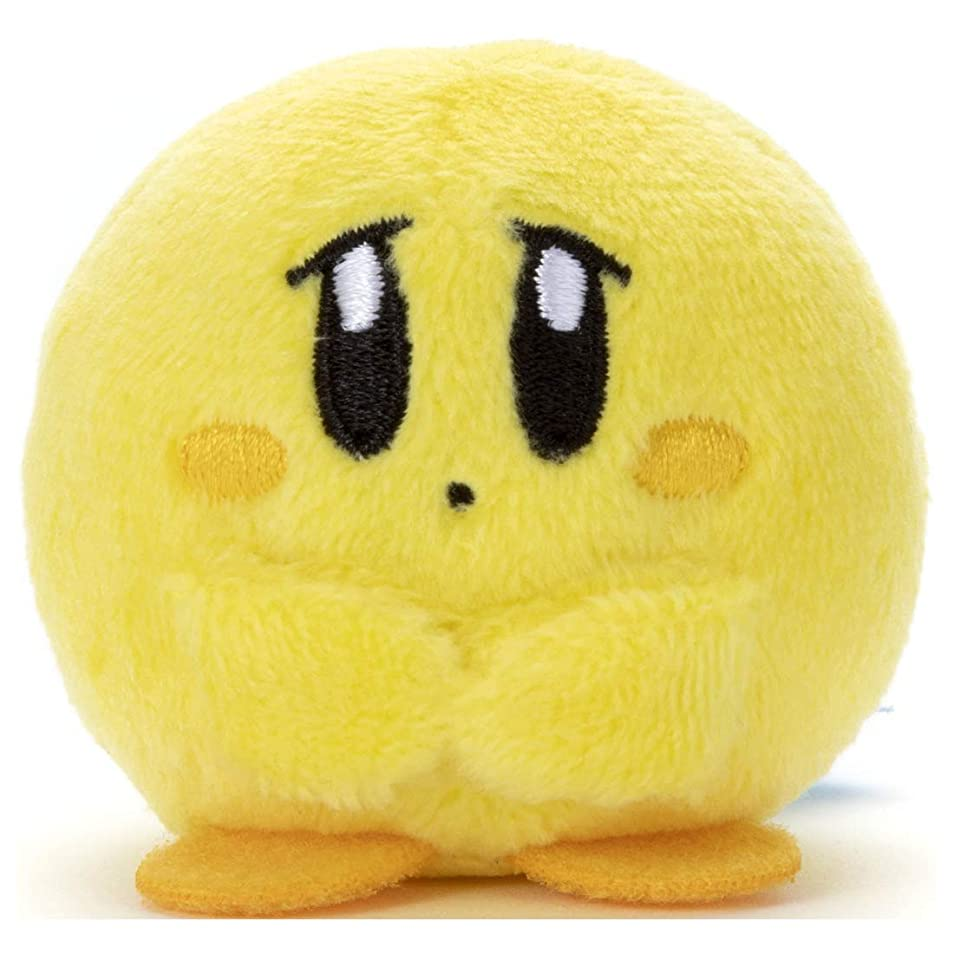 憂鬱を必要としています使役タカラトミーアーツ 星のカービィ minimaginationTOWN ミニミニフレンズ カービィ しょんぼり (イエロー) ぬいぐるみ 高さ約5cm